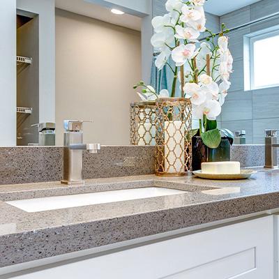 go for granite bathroom worktops